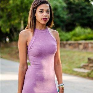 Purple/pinkish dress